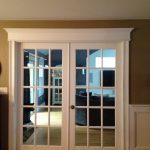 Family room french doors